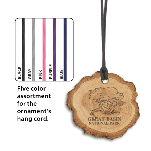 Wooden Slice Ornament